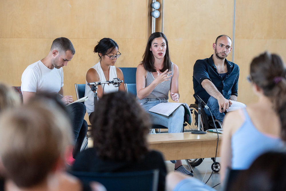 Panel discussions at  Siobhan Davies Studios  during an event in collaboration with  Theatrum Mundi  and  London Festival of Architecture .