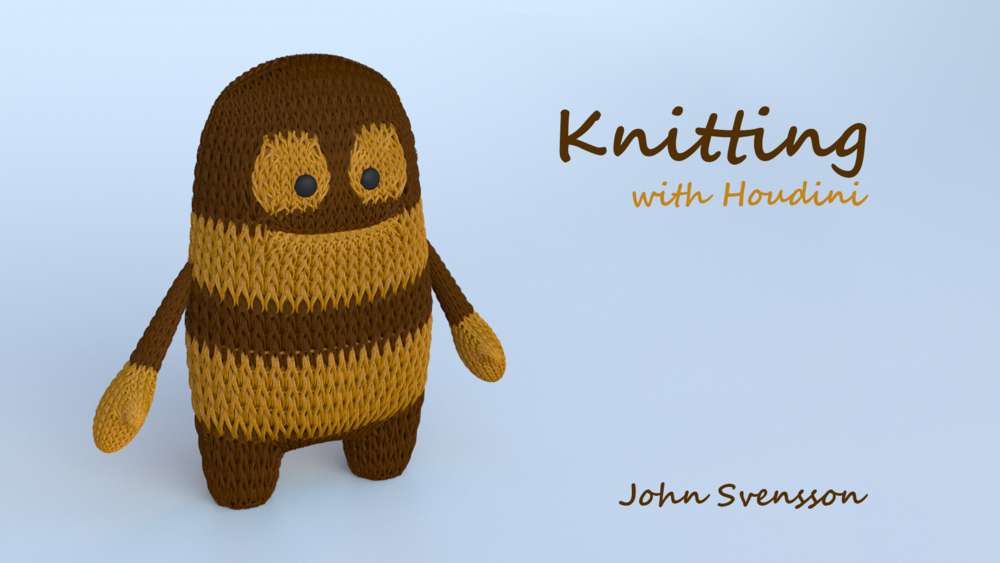 Knitting in Houdini