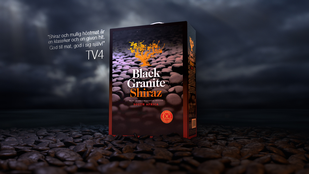 Amka, Black Granite - TVC