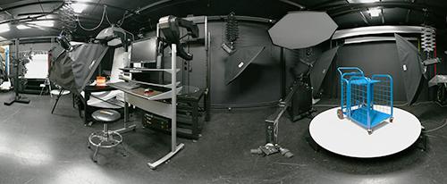 Foto Robot studio interior