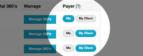 How to change payer in settings