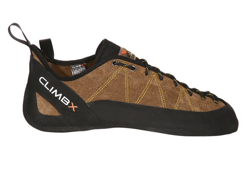 360 Footwear Photography Example of Climb X Shoe