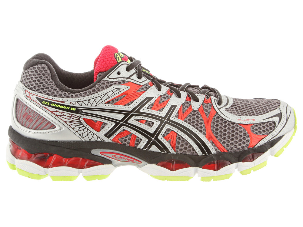 360 Footwear Photography Example of Asics Running Shoe
