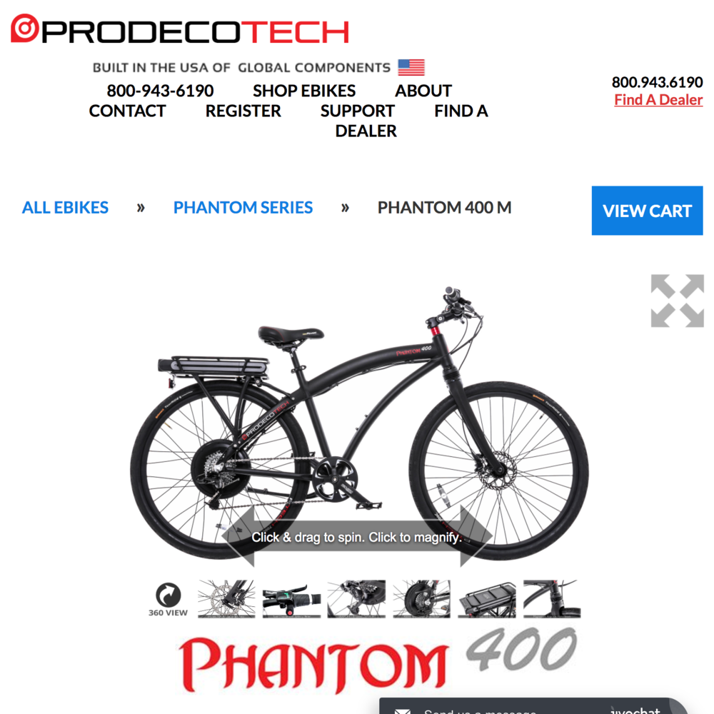 Prodecotech with 360 view