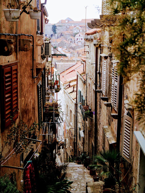 Dubrovnik Old City Street