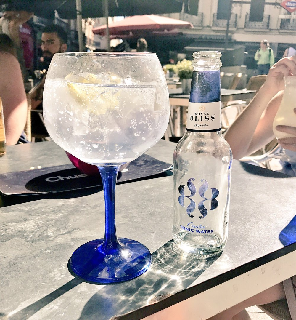 Gin & Tonic in Cheuca, Madrid, Spain