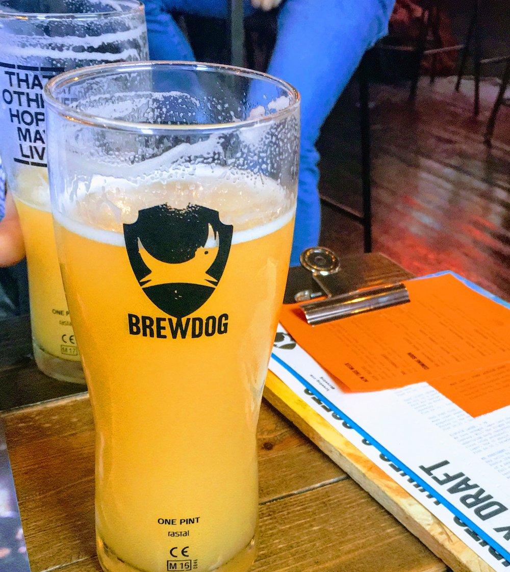 Brew Dog East Coast Crush, Nottingham