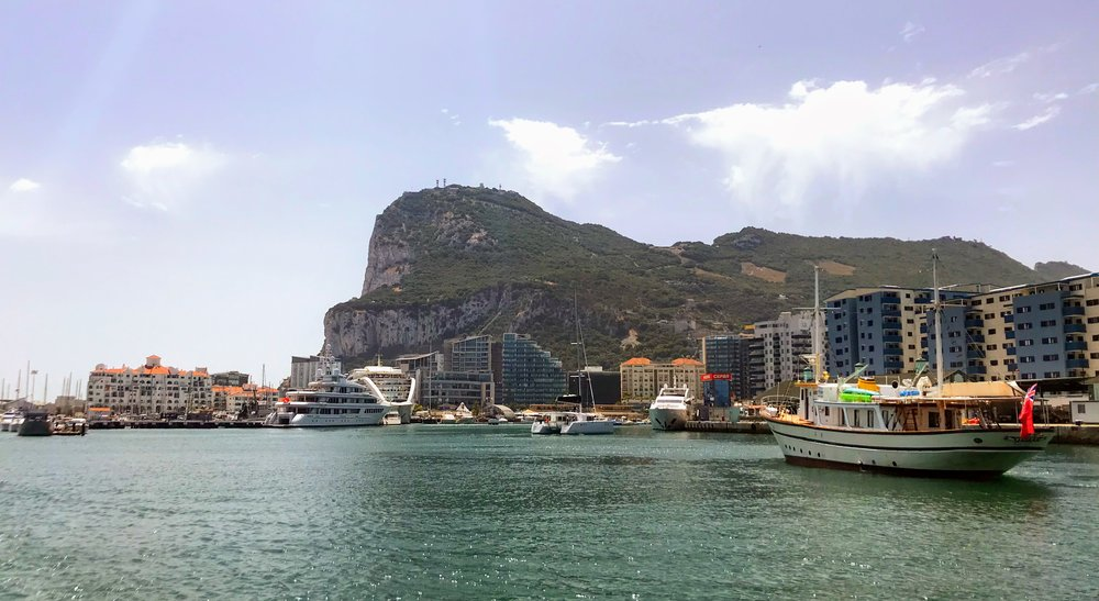 Northern end of the Gibraltar Rock, Gibraltar