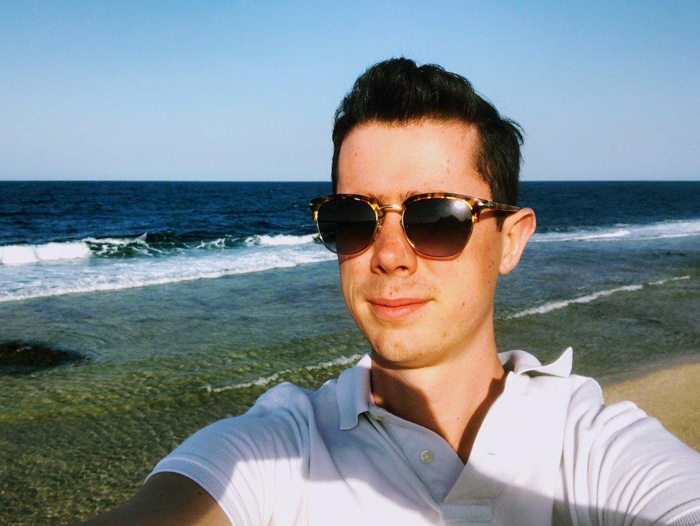 Me enjoying The Red Sea, Marsa Alam, Egypt