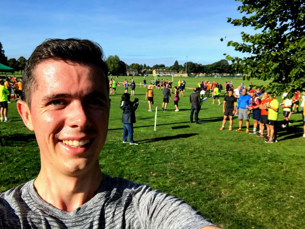 Me, Great Lines Parkrun #253