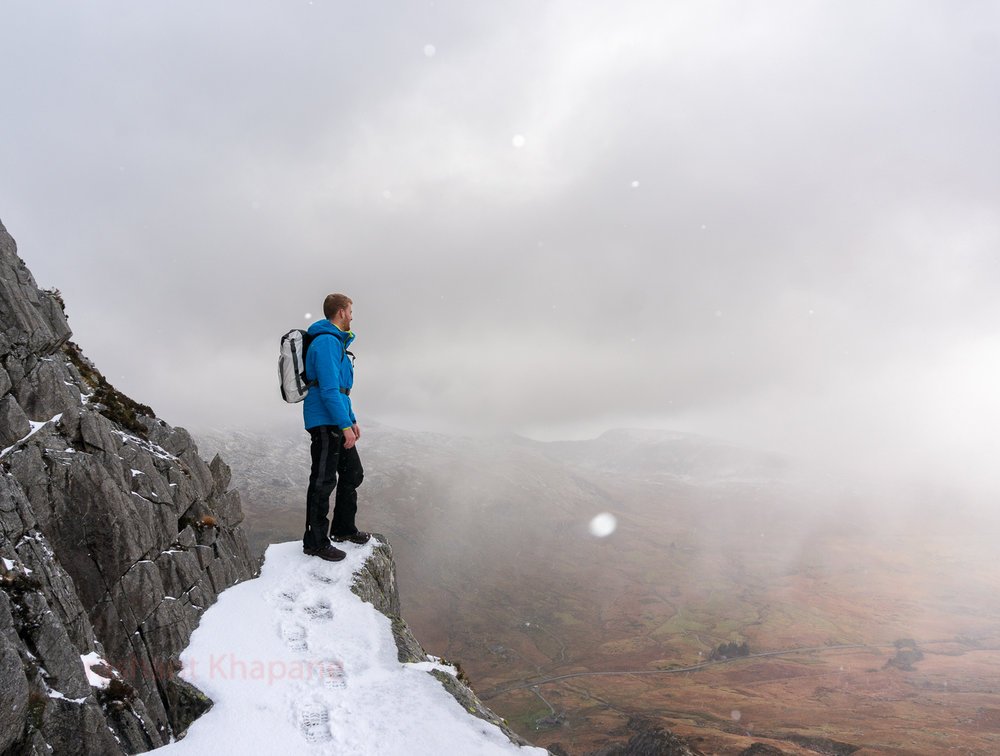 Absolutely fantastic conditions for atmospheric photography on Tryfan