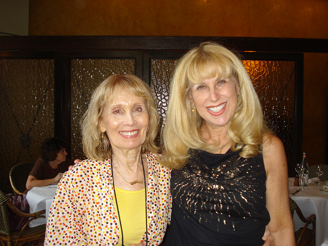 With Esther Lee Kaplan