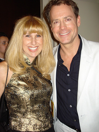 With Greg Kinnear at premier of The Last Song