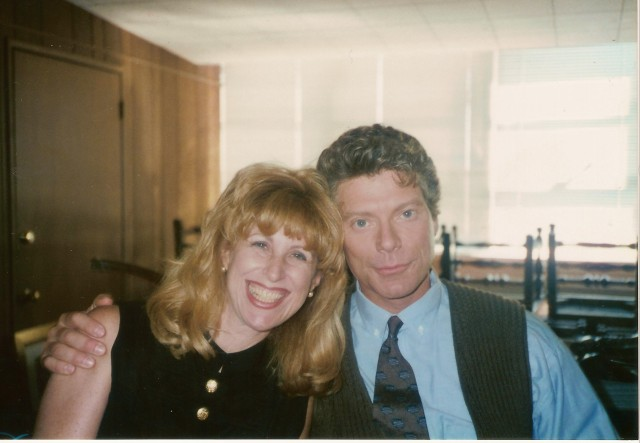 With Stephen Lang on set of Journey of the Heart