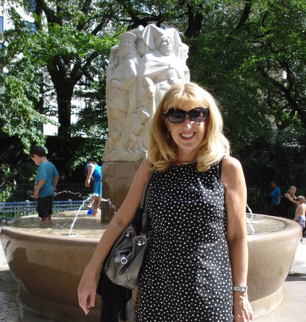 At Sophie Irene Loeb Fountain in Central Park