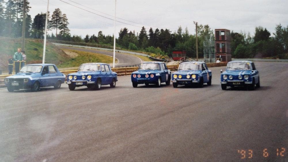 Ahvenisto vuonna 1993