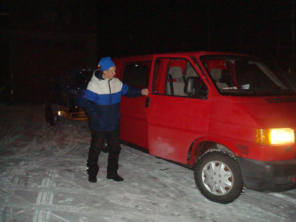 """Käsky käynyt """"ajoneuvoon nouse"""" - Pekka totteli kerrankin heti."""