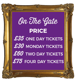 On the gate Geronimo Tickets