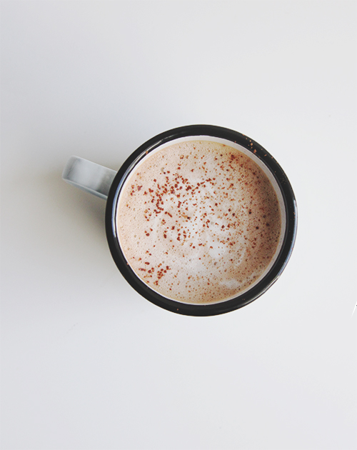 Salted + Nutella + Latte?  These are a few of our favorite things.  View the full recipe here.