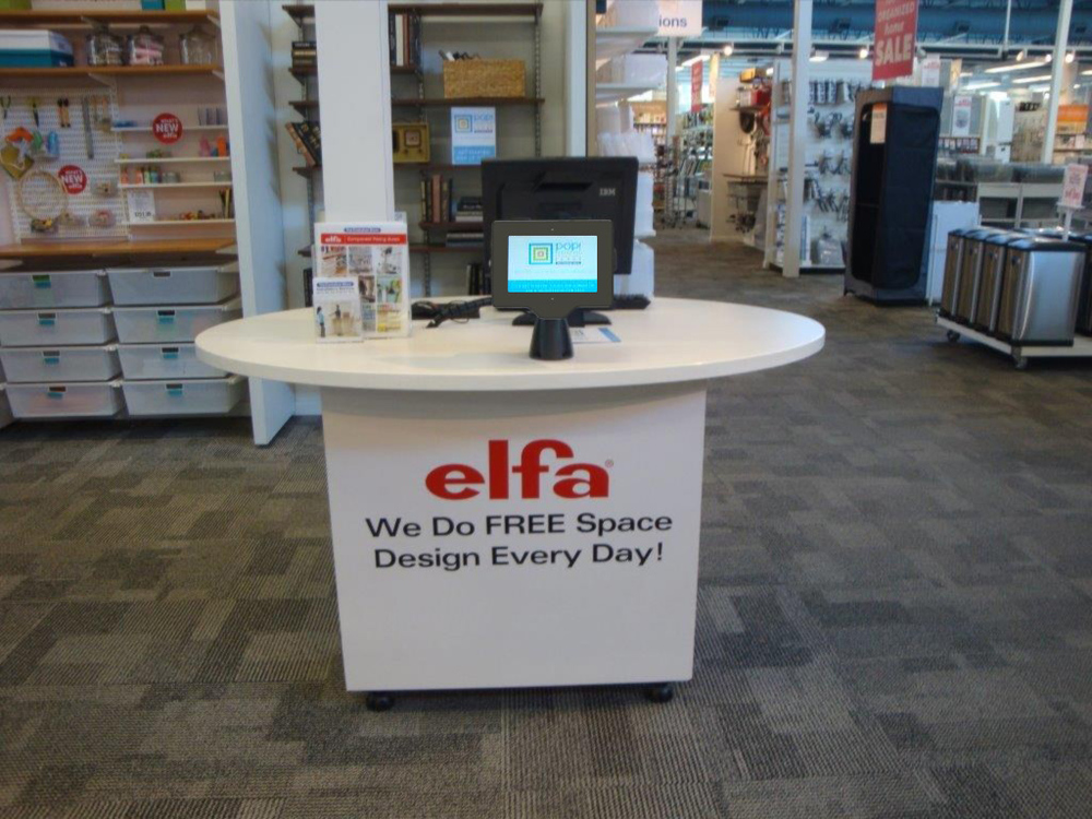 ElitePad Enclosure for The Container Store, POS Table Mount - View 2.JPG
