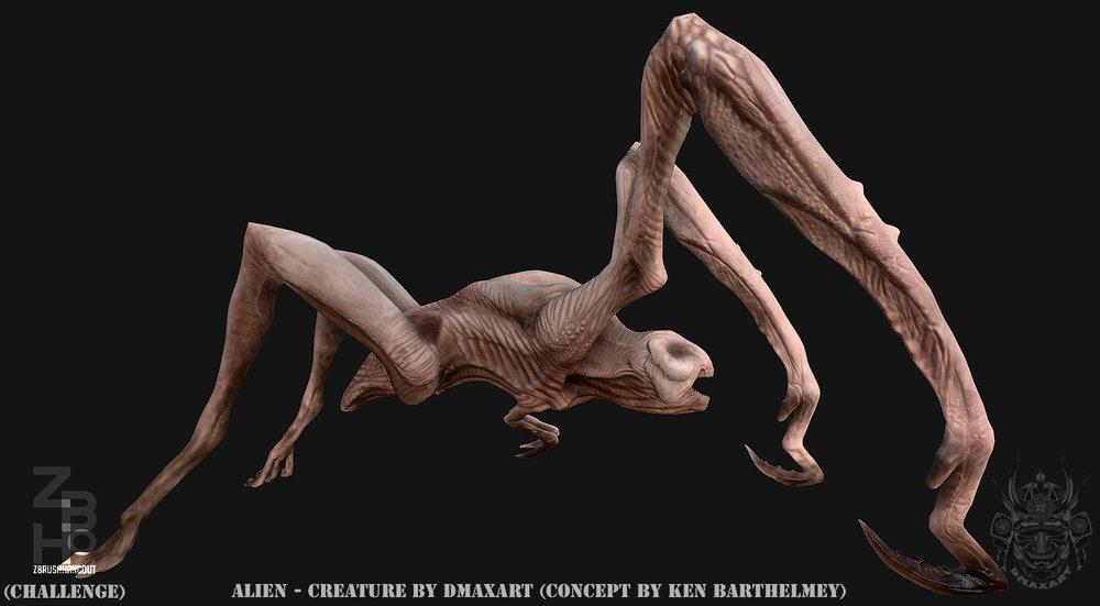 Alien Creature  by Dmaxart beauty 2.jpg