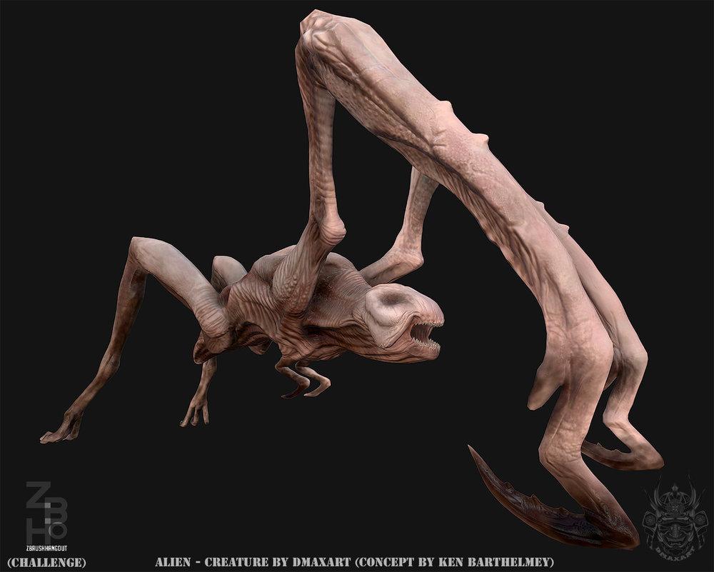 Alien Creature  by Dmaxart beauty.jpg