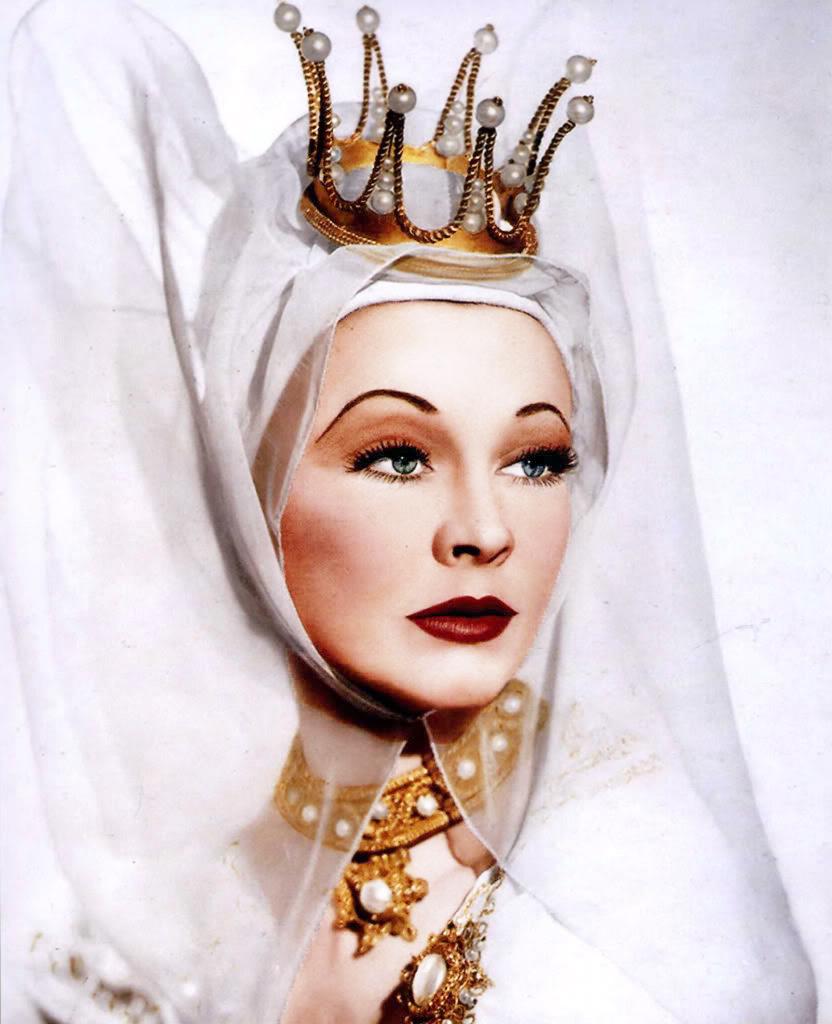 """vintagegal :     Vivien Leigh as Lady Anne in """"Richard III"""" 1948"""