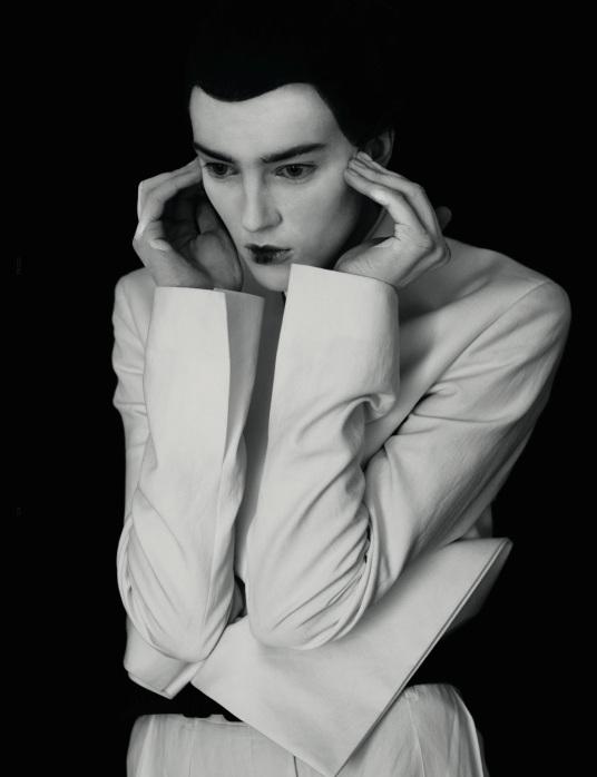 'Butoh' | Giedre Kiaulenaite By Julia Hetta For Dazed + Confused | December2012