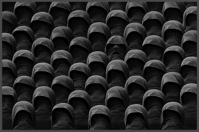 Crowd series by Misha Gordin
