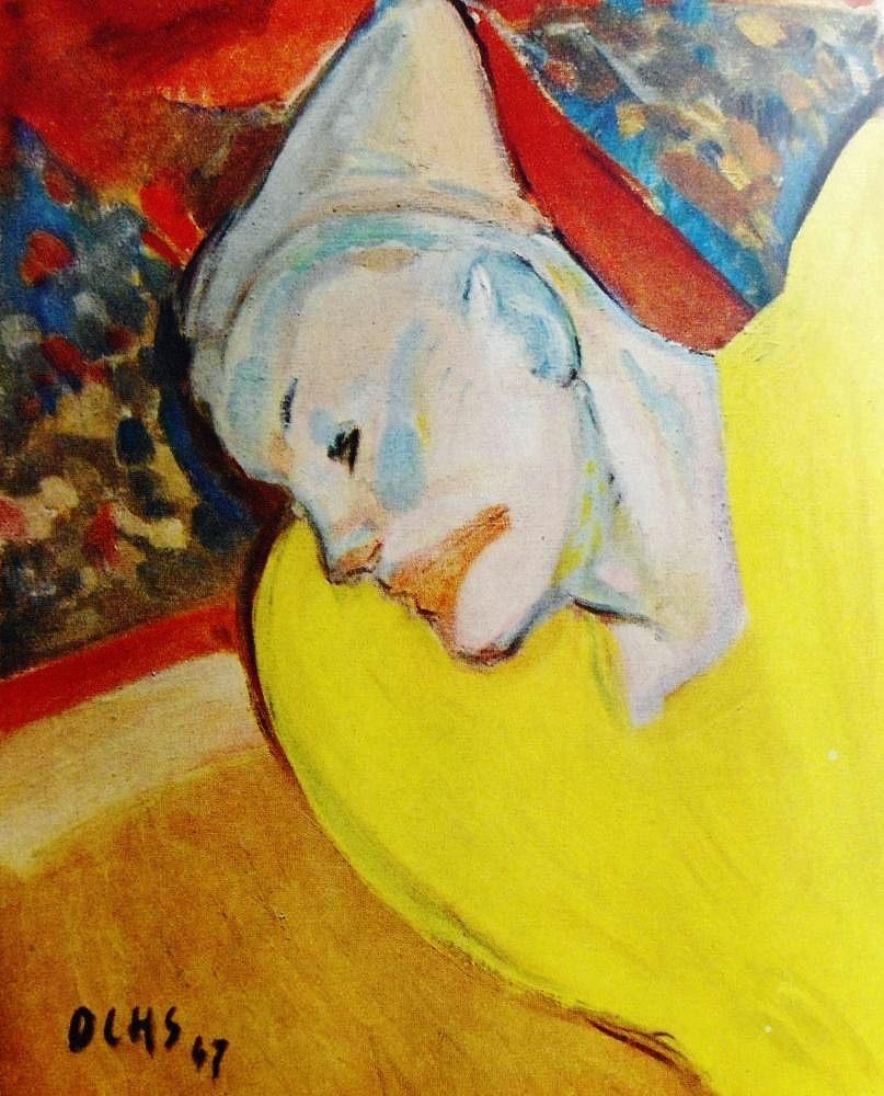 Jacques Ochs - The Yellow Clown, 1947