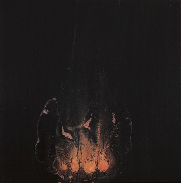 Guo Hongwei  -  The Dark Side - Fire #1,  2010 - oil on canvas