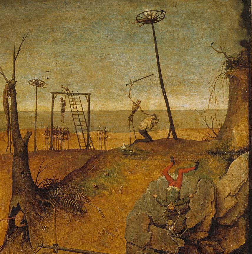 deathandmysticism :     Pieter Bruegel the Elder, Detail of The Triumph of Death, ca. 1562