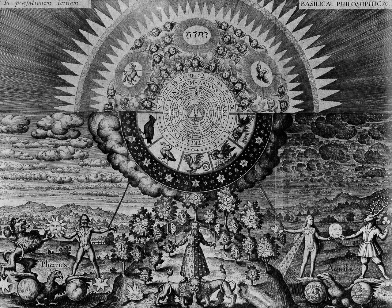 magictransistor :     Matthieu Merian. Engraving for JD Mylius, Opus Medico Chymicum. 1618.