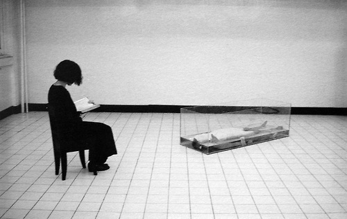 theautologicalmetaphor :     araya rasdjarmrearnsook,  reading for one female corpse . single channel video. 1998.