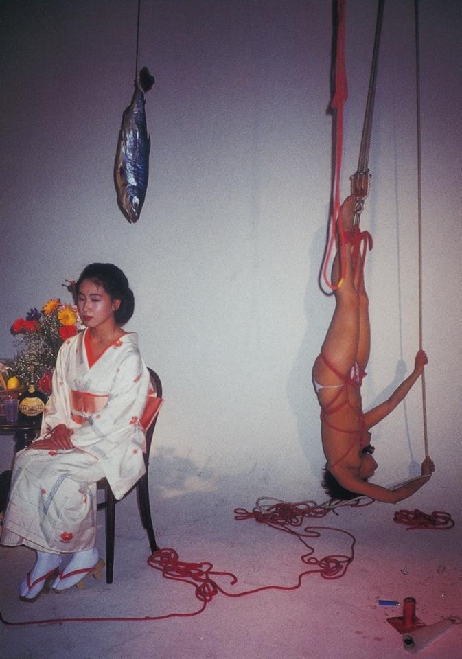"""raveneuse :     Nobuyoshi ARAKI, Taken from """" Keshiki - Sexual Colors """" , 2002."""