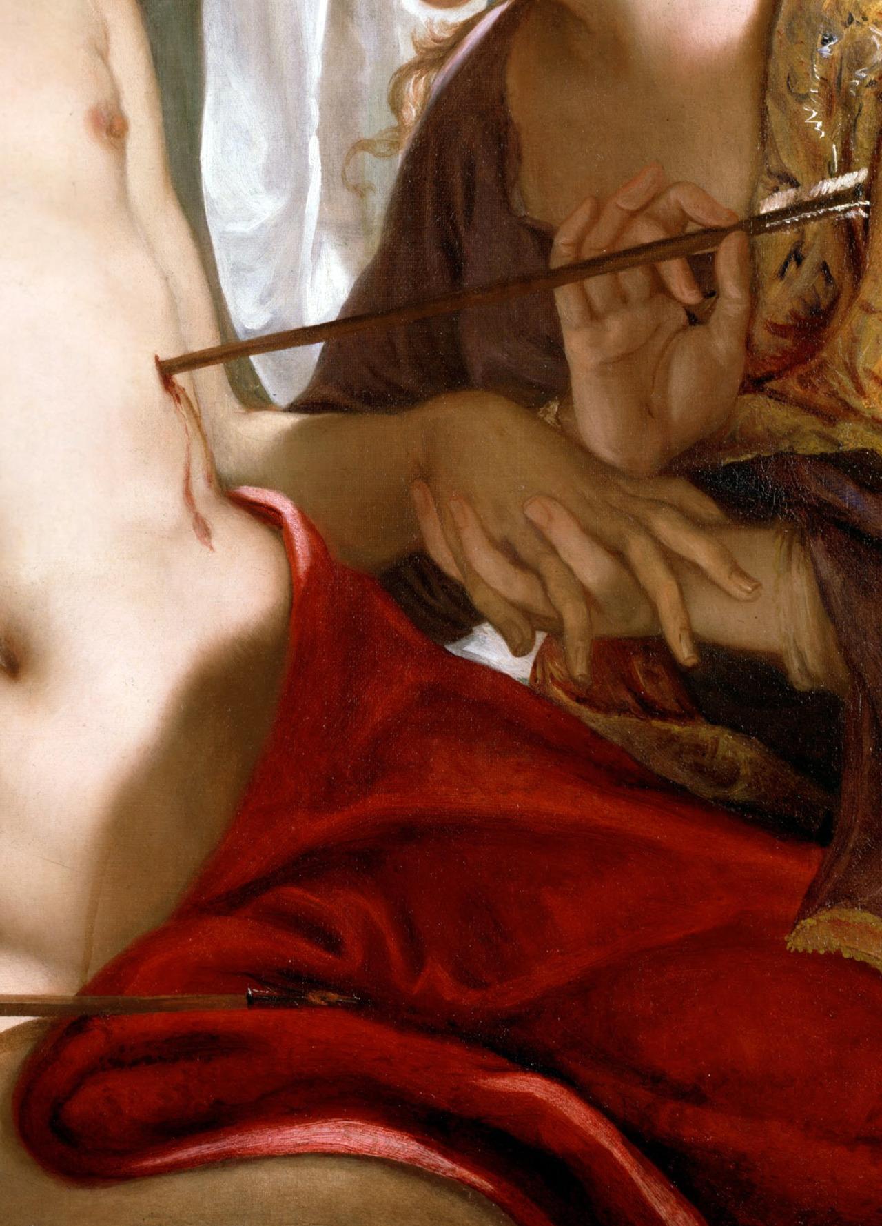 c0ssette :      Bellucci,Antonio,St Sebastian,c.1716-18 (detail)