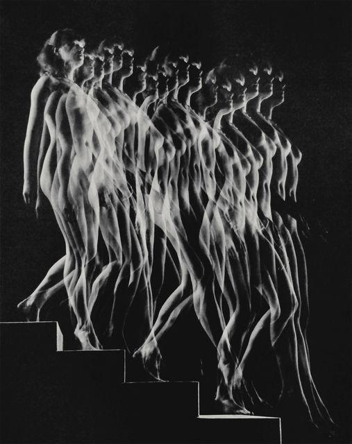 foxesinbreeches :      Nude Descending Staircase (Variant)  by Gjon Mili  , 1942     Also