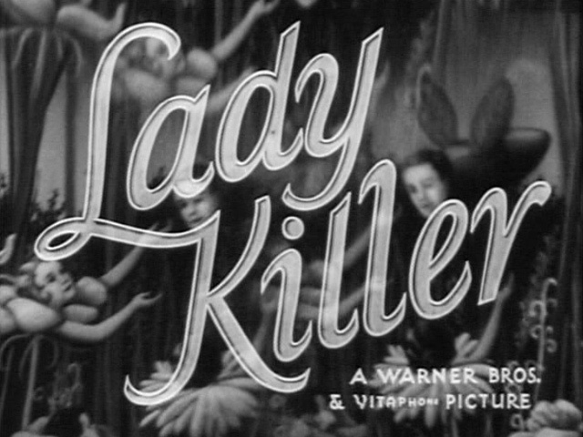 beatpie :      LADY KILLER | Warner Bros. trailer typography