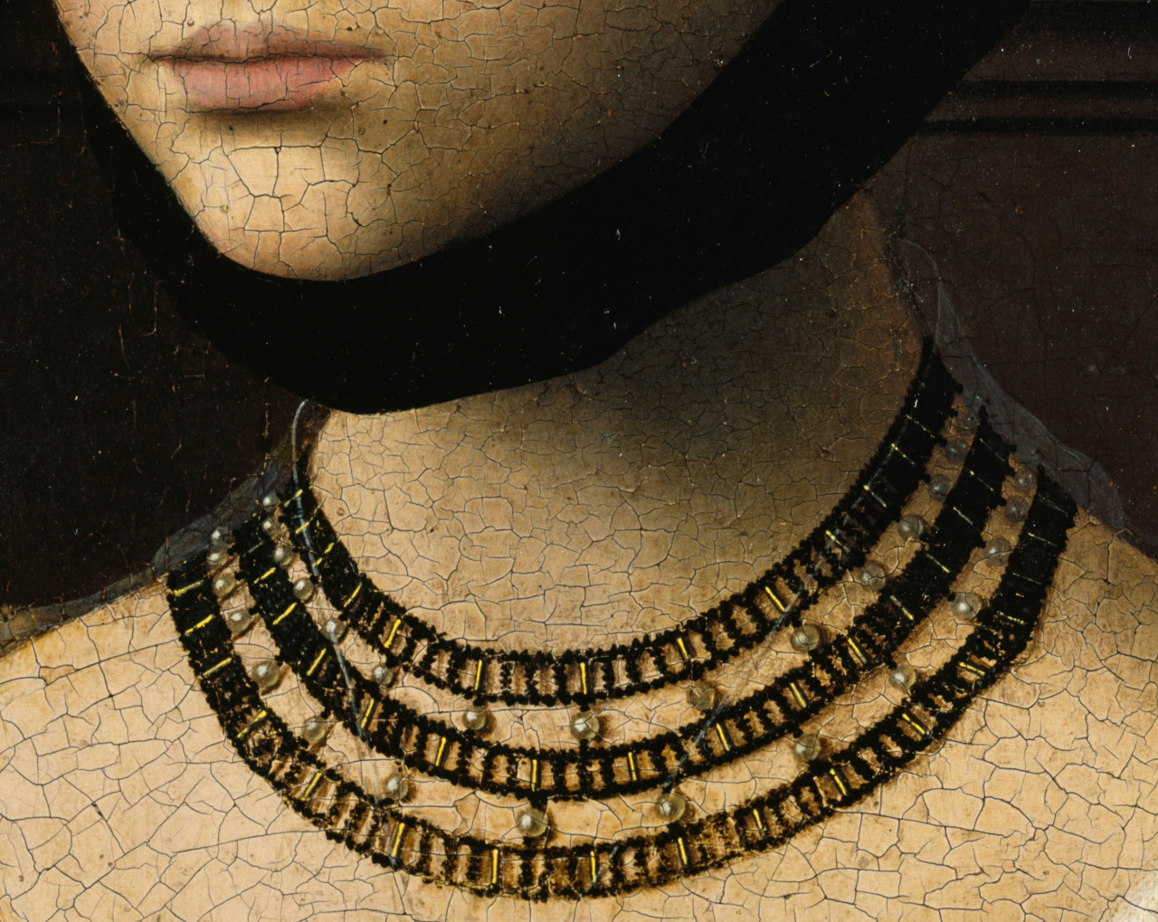 stray-souls :     Petrus Christus, Portrait of a Young Girl (detail)