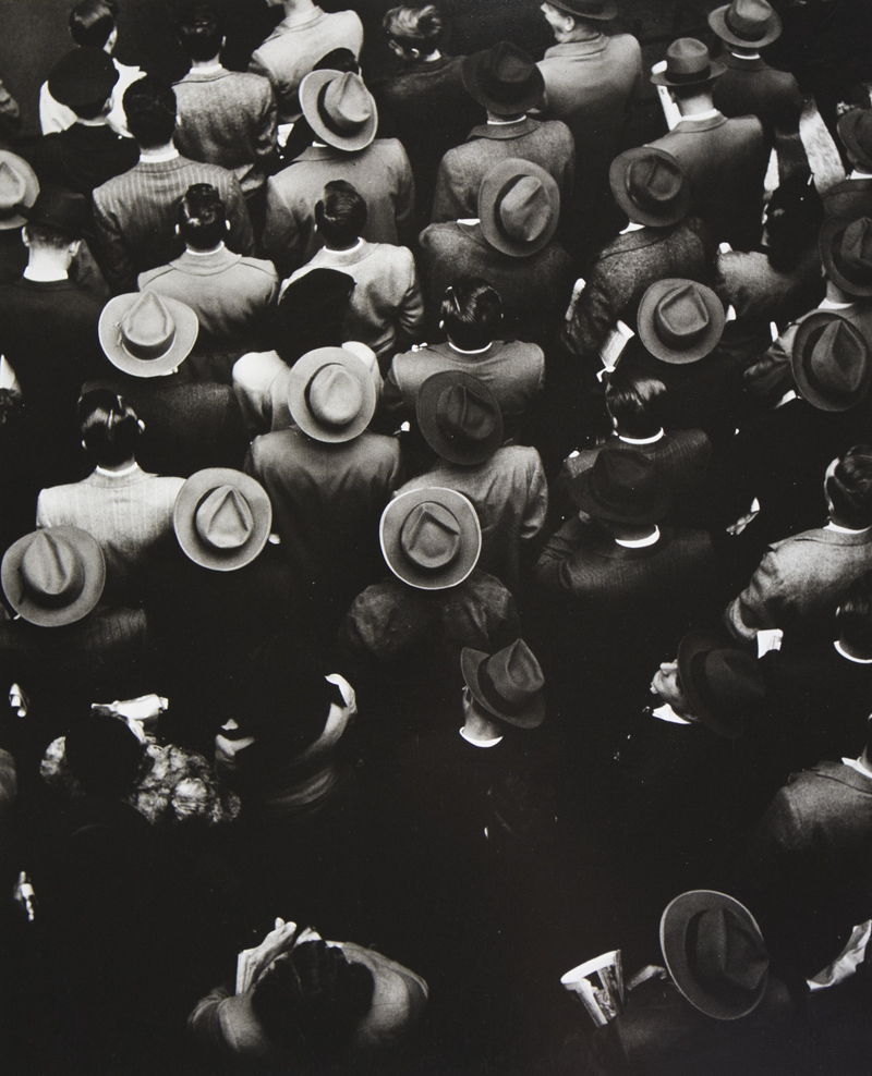 lylaandblu :      Staten Island Ferry Commuters, 1944    Gordon Parks
