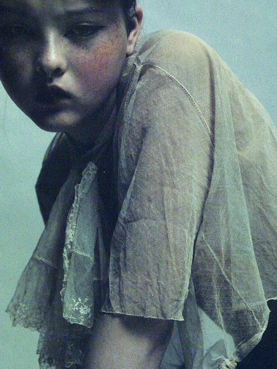 voguelovesme :     The Face | October 1997 Devon Aoki by Mario Sorrenti
