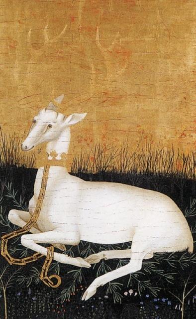 windypoplarsroom :      petitpoulailler :      myaloysius : bibidebabideboo : yama-bato : sealmaiden : 1395 Master of the Wilton Diptych,  Richard II'sWhite Hart