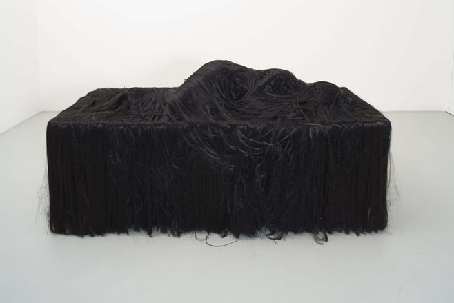 'Untitled (lying figure)' by Simon Schubert, 2008