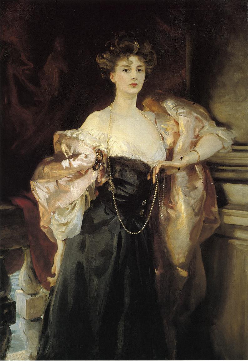 Portrait of Lady Helen Vincent, Viscountess D'Abernon (1904) by  John Singer Sargent