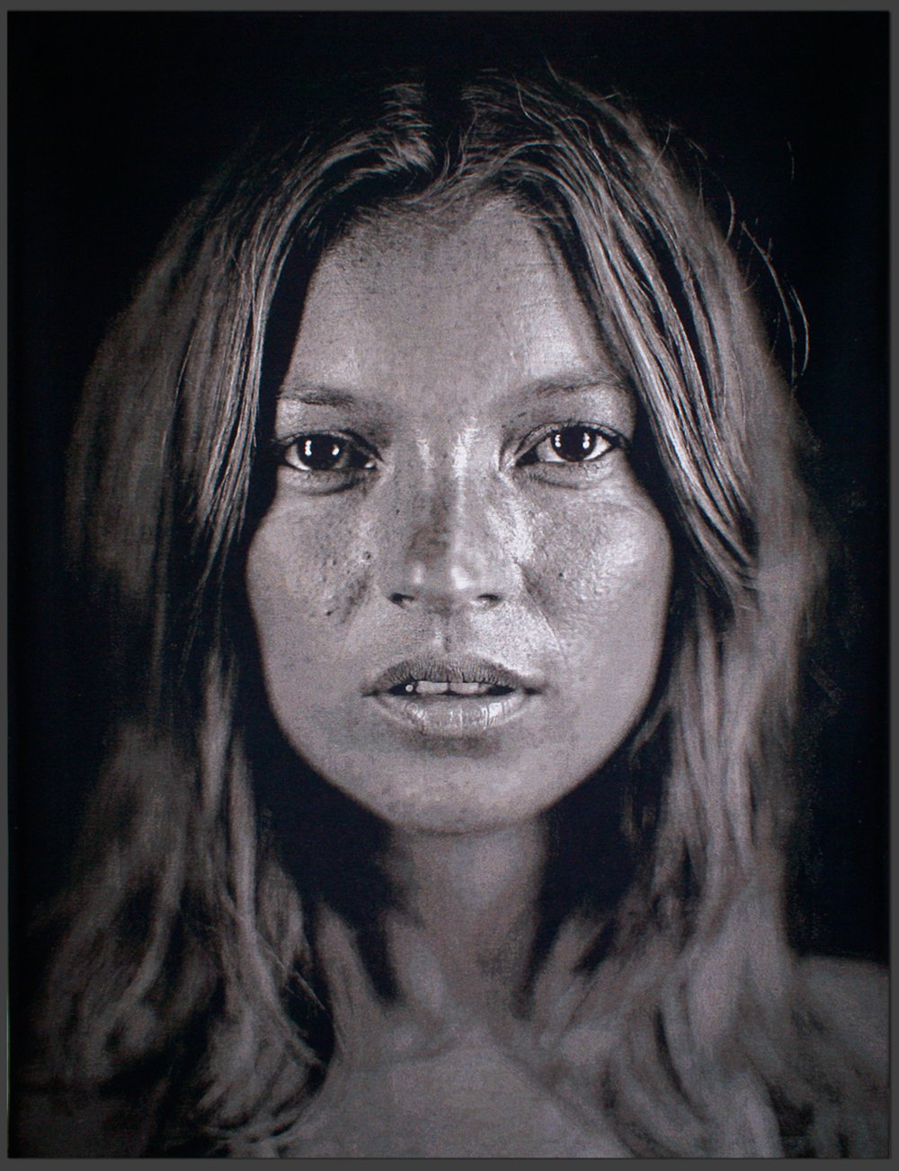"Chuck Close Kate 18 (2009) Lithograph 20"" x 16"" (Framed) CCW0001"