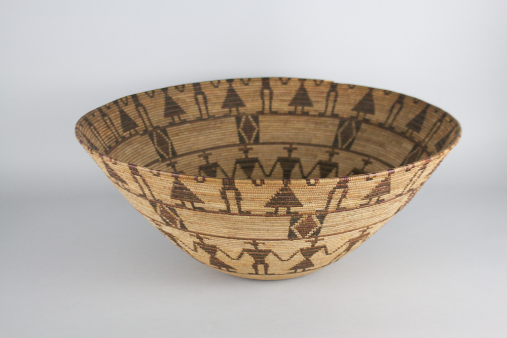 Tulare Polychrome Friendship Bowl   c. 1900s-1910s  BV0480
