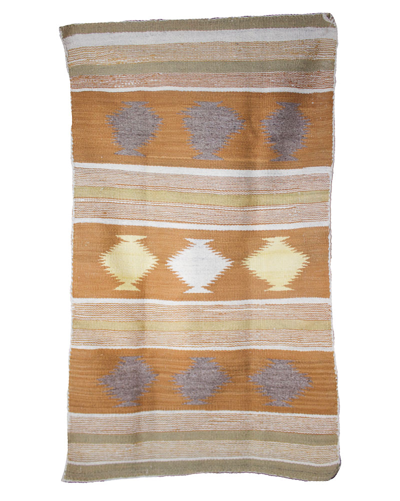 "Navajo Chinle Weaving   c.1950  47"" x 27"" // CVA 0002"