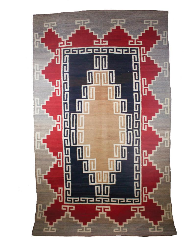 """Navajo J.B. Moore/Crystal Weaving   c.1900  83"""" x 50"""" // BV0495"""