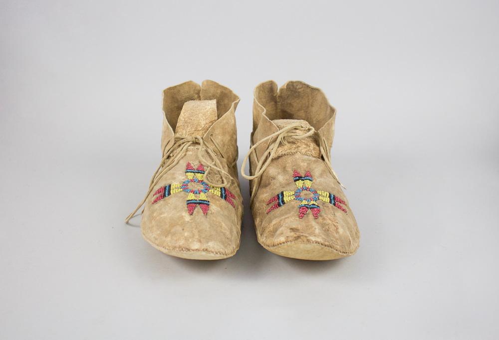 Lakota Sioux c.1890 Parfleche Insoles BV0028