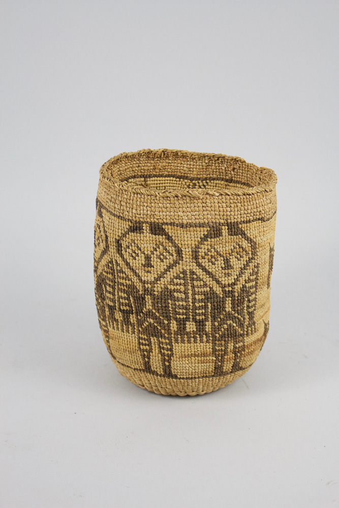 Wasco Wishram Basket c.1890 CRW0001